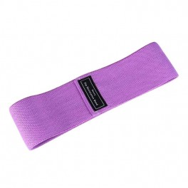 Banda elastica din bumbac si latex, hip band, mov, Heavy Weight pentru exercitii Fitness, Yoga, Crosfit, Pilates