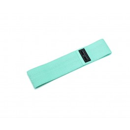 Banda elastica din bumbac si latex, hip band, verde, Light Weight pentru exercitii Fitness, Yoga, Crosfit, Pilates