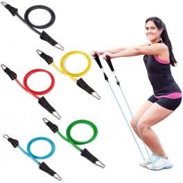 Set Extensoare cu manere Fitness, 11 x accesorii