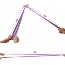 Banda Elastica, Fitness si Yoga Multicolor 150 cm