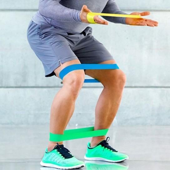 Set 5 Benzi Latex Fitness cu 5 Trepte Dificultate