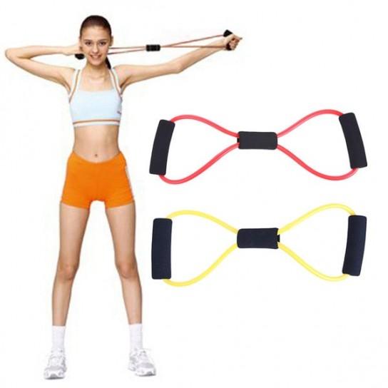 Extensor mic cu manere Fitness Conceptool, 40cm