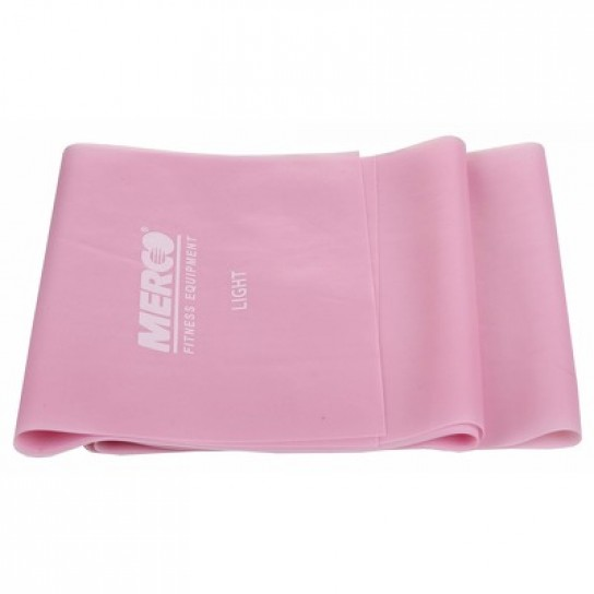 Banda Elastica, Fitness si Yoga 120 cm Roz - MERCO LIGHT