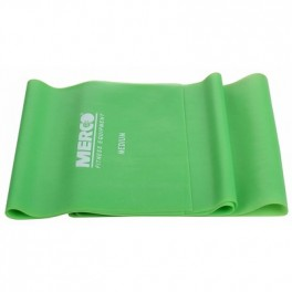 Banda Elastica, Fitness si Yoga 120 cm Verde - MERCO MEDIUM