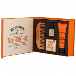 Set cadou de ingrijire barba Men's Grooming Scottish FIne Soaps