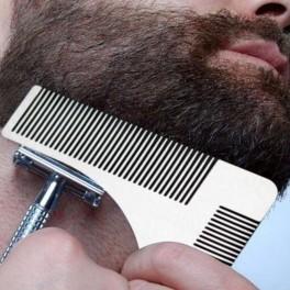 Pieptan contur barba din Otel Inoxidabil