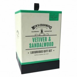 Set barbierit VETIVER & SANDALWOOD