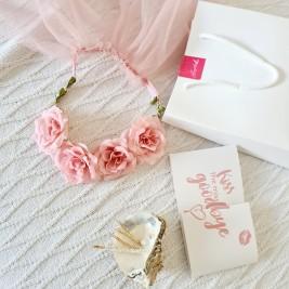 Set petrecerea burlacitelor Blush Pink Bride